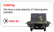 We have a wide selection of Cateringware available.